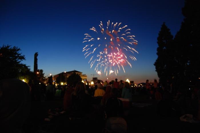 BC Day fireworks
