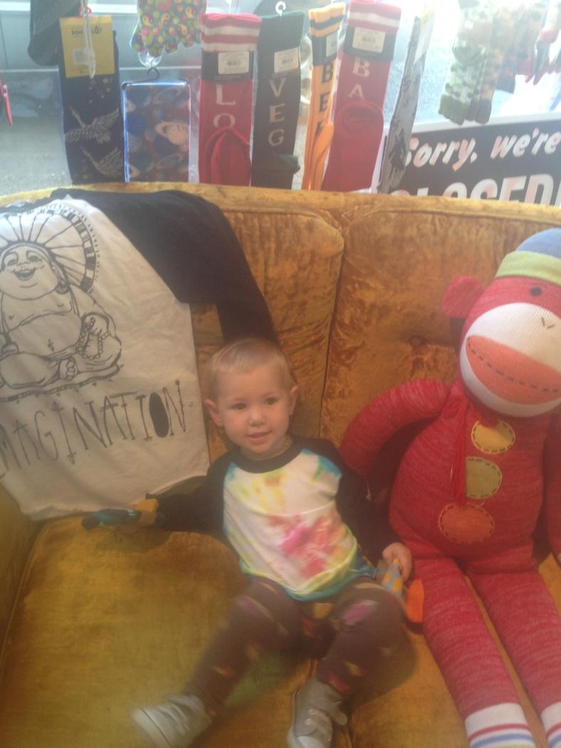 Ella and her friend.