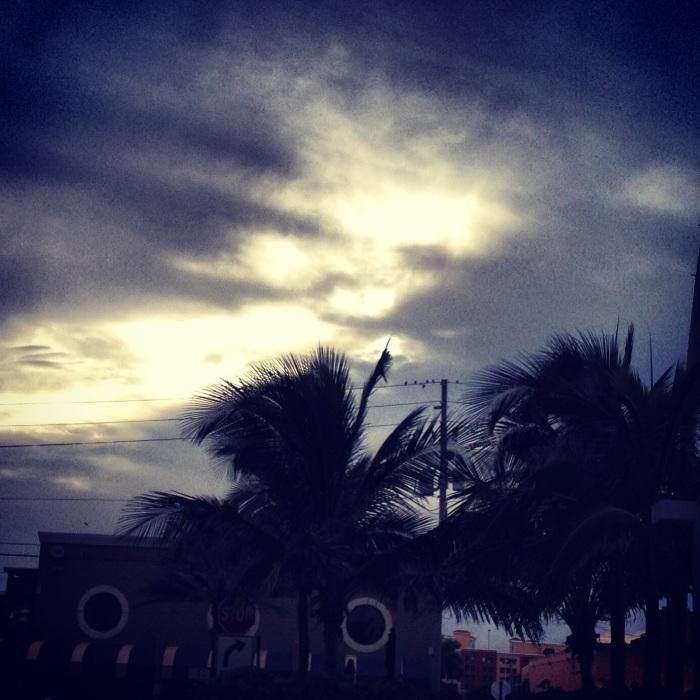 The sky tonight.