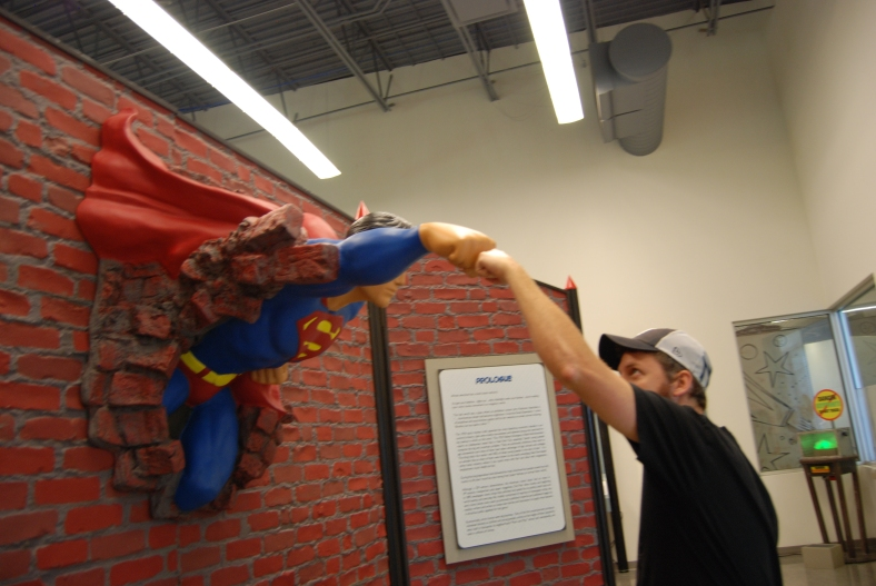 Young at Art has a new superhero exhibit!