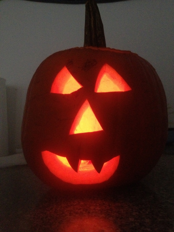What!? We don't celebrate Halloween, but who doesn't love a good Jackolantern??