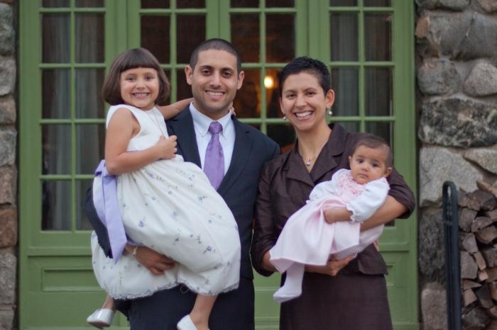 Rachael, Yishai and their daughters