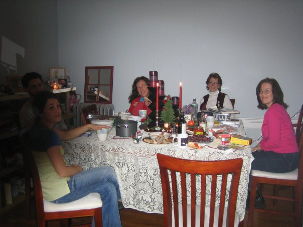 Our Chrismukah party!